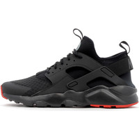 kengät Miehet Korkeavartiset tennarit Nike Air Huarache Run Ultra Black