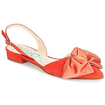 kengät Naiset Sandaalit ja avokkaat Paco Gil MARIE TOFLEX Red