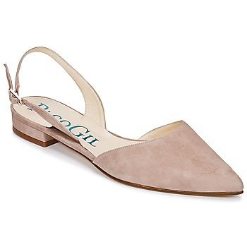 kengät Naiset Sandaalit ja avokkaat Paco Gil MARIE TOFLEX Nude