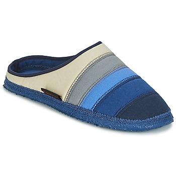 kengät Naiset Tossut Giesswein AZUSA Blue / Beige