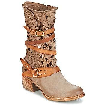 kengät Naiset Bootsit Airstep / A.S.98 CRUZ Beige