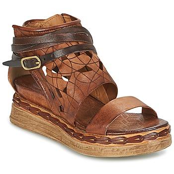kengät Naiset Sandaalit ja avokkaat Airstep / A.S.98 LAGOS Ruskea