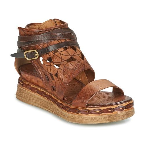 kengät Naiset Sandaalit ja avokkaat Airstep / A.S.98 LAGOS Brown