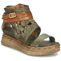 kengät Naiset Sandaalit ja avokkaat Airstep / A.S.98 LAGOS Khaki
