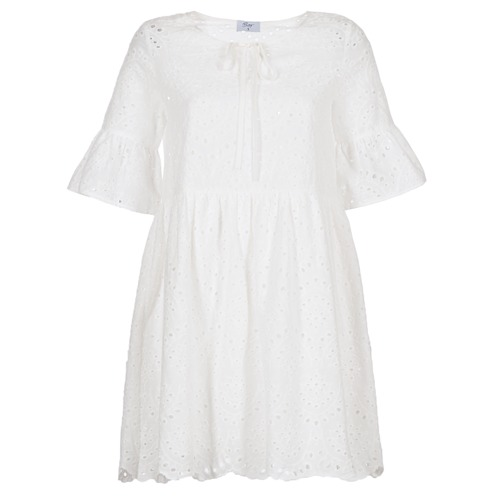 vaatteet Naiset Lyhyt mekko Betty London INNATU White