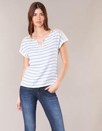 vaatteet Naiset Topit / Puserot Casual Attitude IYUREOL White / Blue
