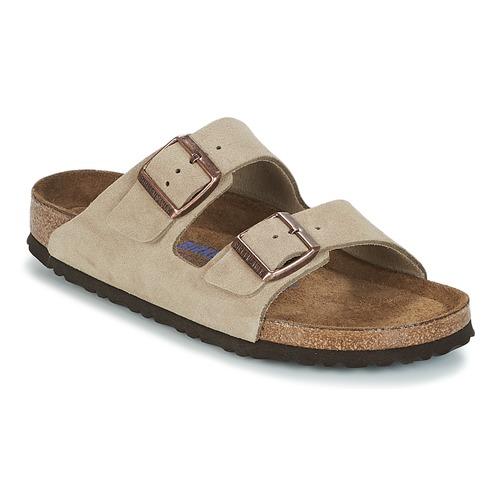 kengät Naiset Sandaalit Birkenstock ARIZONA SFB Taupe