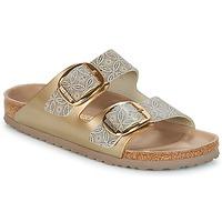kengät Naiset Sandaalit Birkenstock ARIZONA BIG BUCKLE Kulta