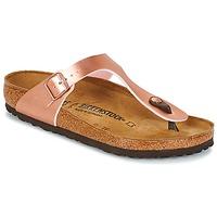 kengät Naiset Varvassandaalit Birkenstock GIZEH Pink