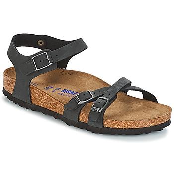 kengät Naiset Sandaalit ja avokkaat Birkenstock KUMBA SFB Black