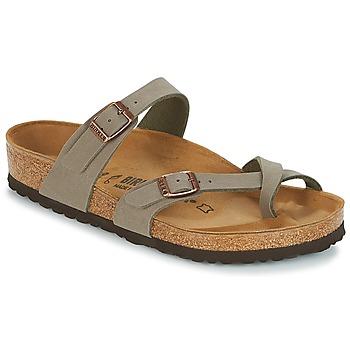 kengät Naiset Varvassandaalit Birkenstock MAYARI Grey