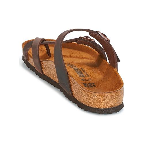 Birkenstock Mayari Brown - Ilmainen Toimitus- Kengät Sandaalit Naiset 82
