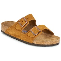 kengät Miehet Sandaalit Birkenstock ARIZONA SFB Brown