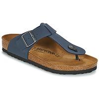 kengät Miehet Varvassandaalit Birkenstock MEDINA Blue
