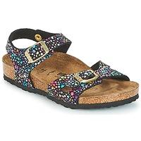 kengät Tytöt Sandaalit ja avokkaat Birkenstock RIO Black