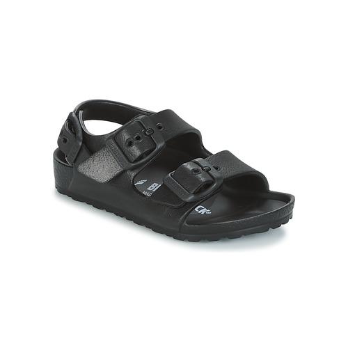 kengät Lapset Sandaalit ja avokkaat Birkenstock MILANO-EVA Black