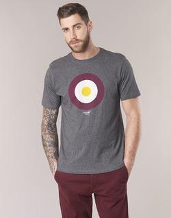 vaatteet Miehet Lyhythihainen t-paita Ben Sherman THE TARGET TEE Grey