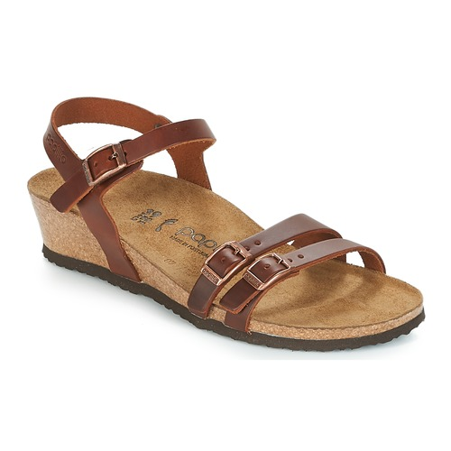 kengät Naiset Sandaalit ja avokkaat Papillio LANA Cognac