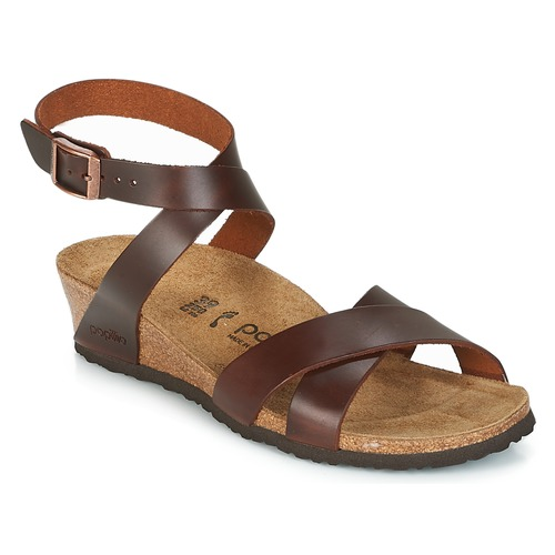 kengät Naiset Sandaalit ja avokkaat Papillio LOLA Cognac