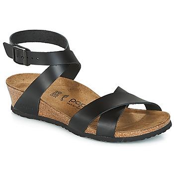 kengät Naiset Sandaalit ja avokkaat Papillio LOLA Black