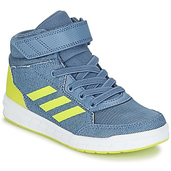 kengät Pojat Korkeavartiset tennarit adidas Performance ALTASPORT MID EL K Blue