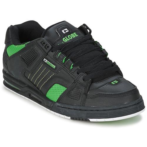 kengät Miehet Matalavartiset tennarit Globe SABRE Black / Green