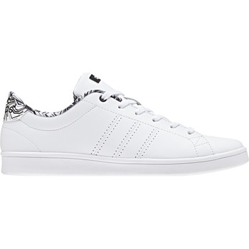 kengät Naiset Matalavartiset tennarit adidas Originals ADVANTAGE CL QT W DB1858 BLANCO
