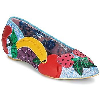 kengät Naiset Balleriinat Irregular Choice BANANA BOAT Sininen