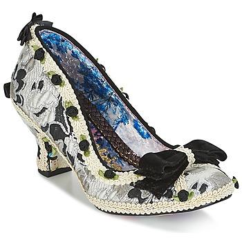 kengät Naiset Korkokengät Irregular Choice BISH BASH BOW Hopea / Black