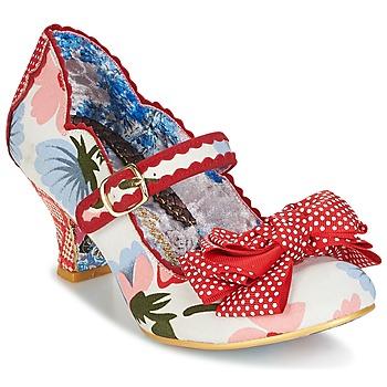 kengät Naiset Korkokengät Irregular Choice BALMY NIGHTS White / Red