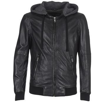 vaatteet Miehet Nahkatakit / Tekonahkatakit Oakwood 62061 Black