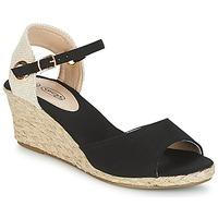 kengät Naiset Sandaalit ja avokkaat Spot on BONDER Musta