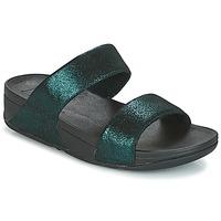 kengät Naiset Sandaalit FitFlop SLIDE Green