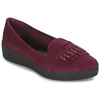 kengät Naiset Balleriinat FitFlop LOAFER Violetti