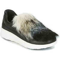 kengät Naiset Tennarit FitFlop LOAFER Black
