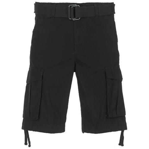 vaatteet Miehet Shortsit / Bermuda-shortsit Jack & Jones JJIANAKIN Musta