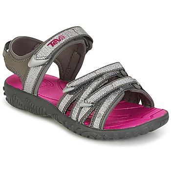 kengät Tytöt Sandaalit ja avokkaat Teva TIRRA Hopea