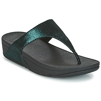 kengät Naiset Varvassandaalit FitFlop SHIMMY SUEDE TOE-POST Green