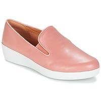 kengät Naiset Tennarit FitFlop SUPERSKATE Pink