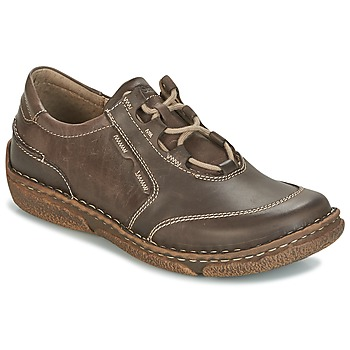 kengät Naiset Derby-kengät Josef Seibel NEELE 28 Brown / Green