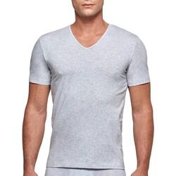 vaatteet Miehet Lyhythihainen t-paita Impetus GO31024 073 Harmaa