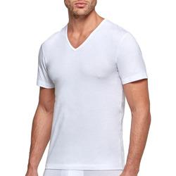 vaatteet Miehet Lyhythihainen t-paita Impetus GO31024 26C Valkoinen