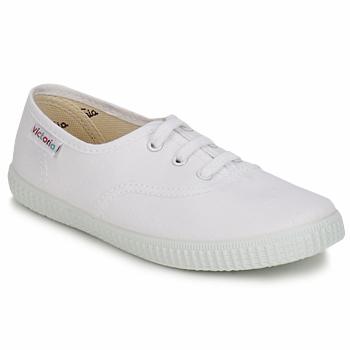 kengät Lapset Matalavartiset tennarit Victoria INGLESA LONA KID White