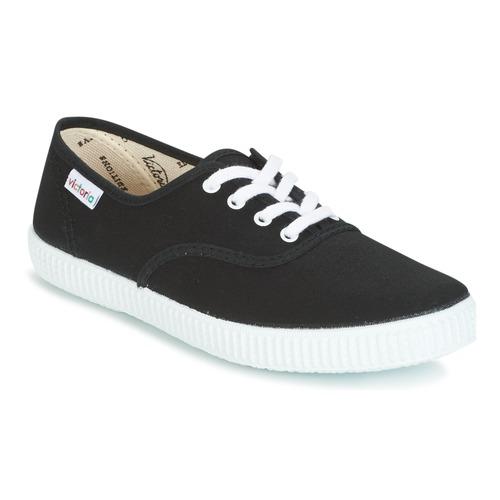 kengät Matalavartiset tennarit Victoria INGLESA LONA Musta