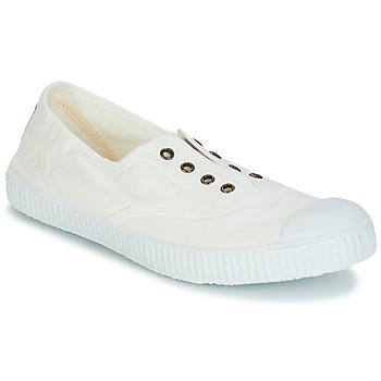kengät Naiset Matalavartiset tennarit Victoria 6623 Valkoinen