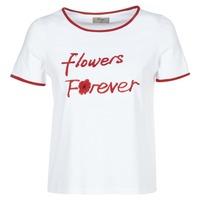 vaatteet Naiset Lyhythihainen t-paita Betty London INNATIMBI White / Red