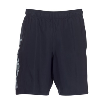 vaatteet Miehet Shortsit / Bermuda-shortsit Under Armour WOVEN GRAPHIC WORDMARK SHORT Black