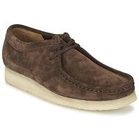 kengät Miehet Derby-kengät Clarks WALLABEE Brun
