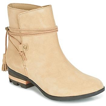 kengät Naiset Bootsit Sorel Farah Short Beige