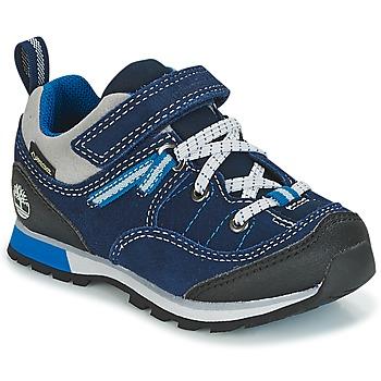 kengät Lapset Matalavartiset tennarit Timberland GRIFFIN PARK LOW GTX Blue